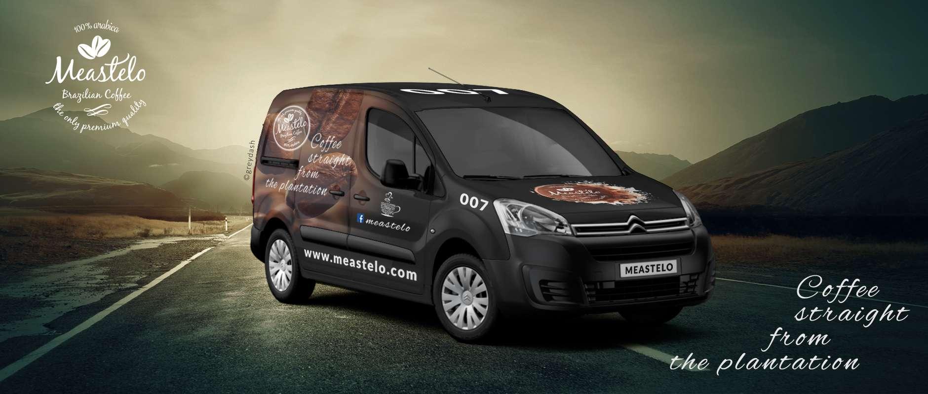 Meastelo's van design
