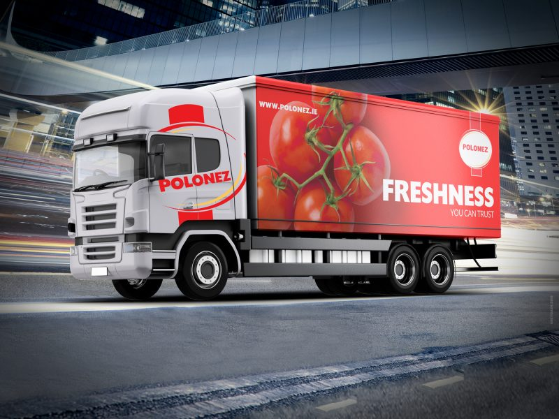 Polonez | truck design | Grey Dash advertising agency | Ireland