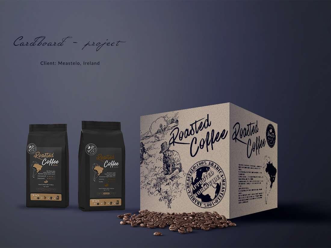 Meastelo packaging | Grey Dash creative advertising agency