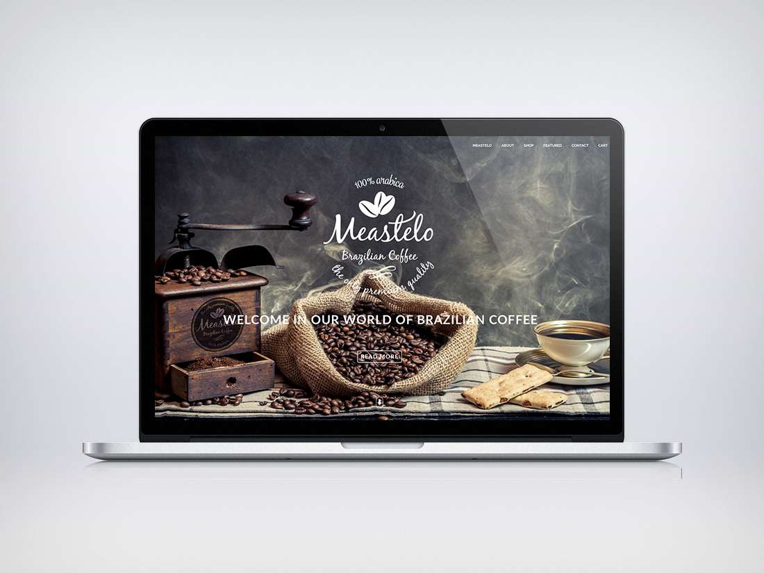Meastelo Coffee Webdesign