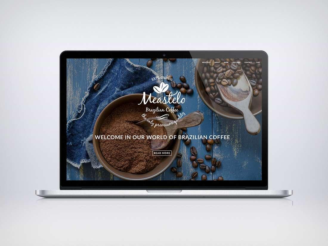 Meastelo Coffee Webdesign