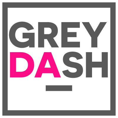 Grey Dash logo